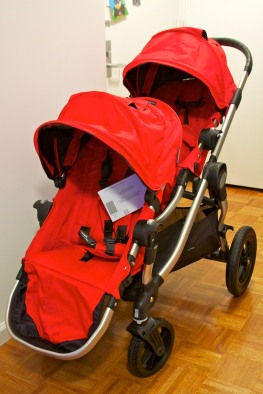 Stroller with two seats